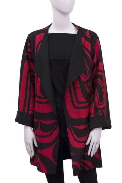 Chloe Angus Designs Chloe Angus Design Haida Overcoat
