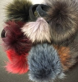 CA Fur Pom Pom with Elastic