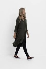 ELK Loden Drapey Shirt Dress
