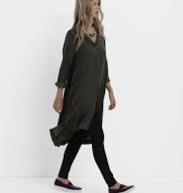 ELK Elk Loden Drapey Shirt Dress
