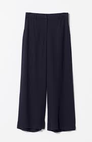 ELK Black Wide Leg Pant
