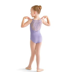 Bloch Bloch Vine Flock Bow Back Cami Leotard