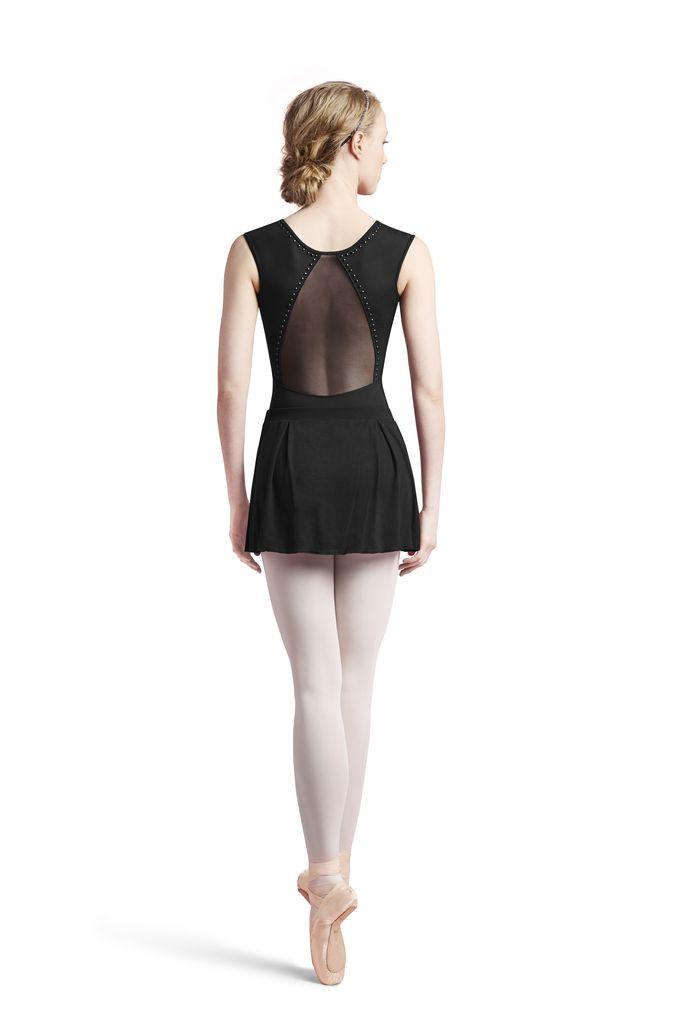 Bloch Bloch Mesh & Jersey Pixie Hem Skirt