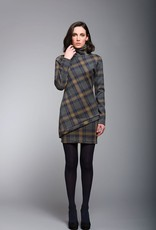 Ruelle Ruelle City Tunic - Plaid