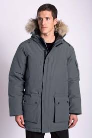 "MPG The ultimate in warmth, designed for cold climates, this men's 650 fill power parka (35"") provides superior protection from elements"