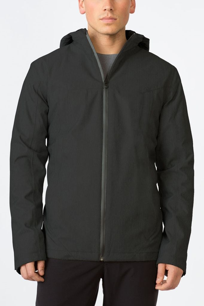 MPG A smart choice for jet setting, this jacket is rain proof and seam-sealed, with extra-cozy PrimaLoft insulation. Perfectly breathable, details like a two-way adjustable hood and tons of pockets add to the appeal. As a special feature, interior pockets are