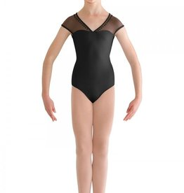 Bloch Bloch Pearl Bow Back Cap Sleeve Leotard