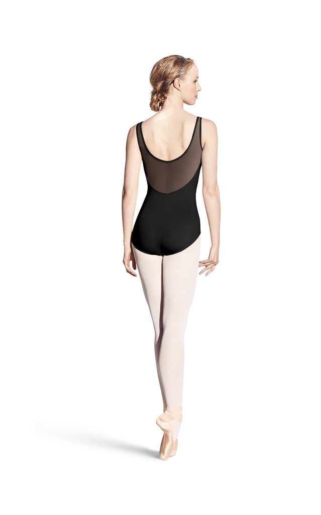 Bloch Bloch Studded Front Panel Tank Leotard