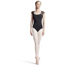 Bloch Mirella Butterfly Bust Cap Sleeve Leotard
