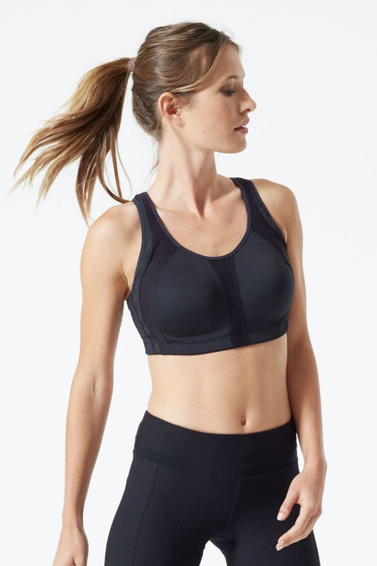 MPG Experience total comfort and control when you push it to the max in this ultra keyhole bra.