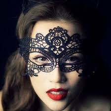 Crystal World Lace Mask