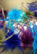 CA Ostrich-Hair-Clips