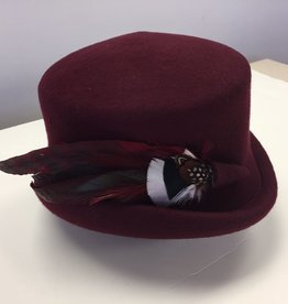 Canadian Hat Company Ltd. Canadian Hat Ultima Callie Burgundy Felt Hat
