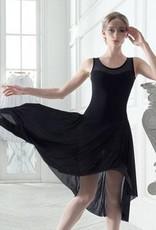 Grishko Grishko 2058 Mesh Cutout Dance Dress