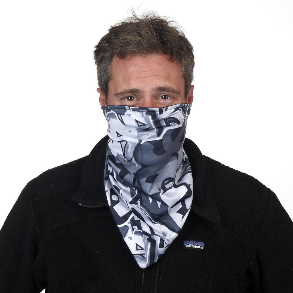 Turtle Fur Snow Veil Bandit Style Neck Warmer / Color - Gray Zone <br /> Snow Veil Bandit Style Neck Warmer / Color - Gray Zone <br /> Snow Veil Bandit Style Neck Warmer / Color - Gray Zone <br /> Snow Veil Bandit Style Neck Warmer / Color - Gray Zone<br /> snow veil adjustable bandit neck