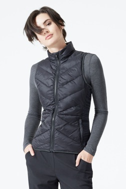 MPG MPG Women's 11D0003 Bounty Sweat Tech Full Zip Vest