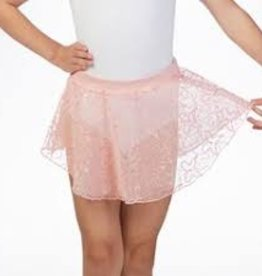Bloch Mirella Butterfly Uneven Hem Skirt