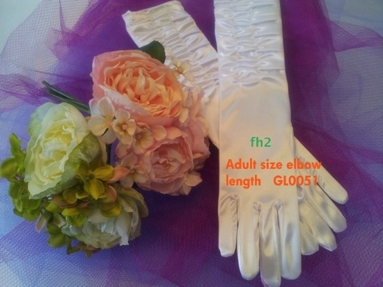 Long-Satin-Gloves-w-Gathers-White