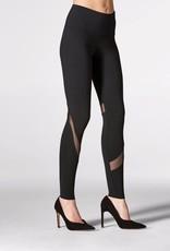 Mondor Tactel® leggings<br /> Mesh inserts around the legs<br /> Wide ultra comfort waistband