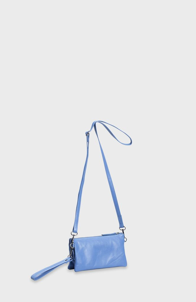 ELK - Compact design<br /> - Wrist strap<br /> - Doubles as a clutch<br /> - Adjustable and detachable cross body strap