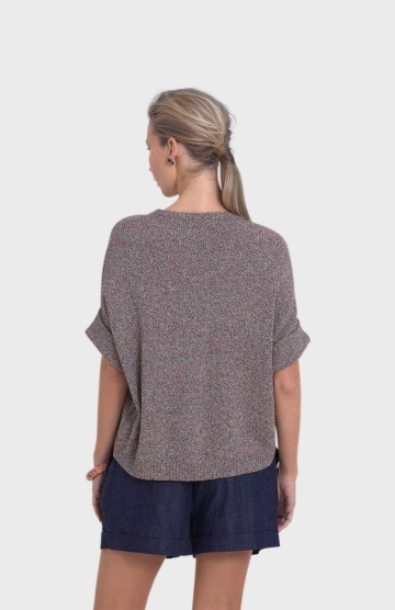 ELK Elk Summer Roll Sleeve Sweater