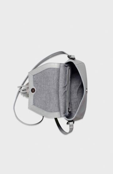 ELK - Tassel design feature<br /> - Feature resin bead<br /> - Adjustable cross body strap