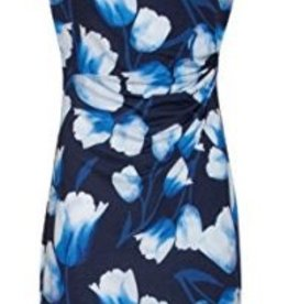 Smashed Lemon Smashed Lemon 18031-03 Blue Tulip Dress