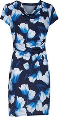 Smashed Lemon Smashed Lemon 18031-03 Blue Tulip Dress