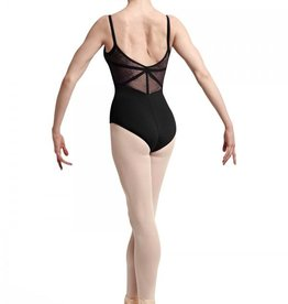 Bloch Bloch L7727 Lace and Ribbon Panel Back Cami Leotard