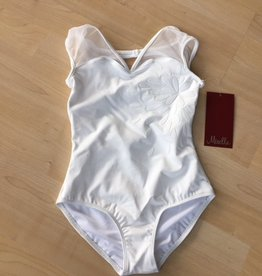 Bloch Bloch Mirella M1502C Bow Back, Mesh Cap Sleeved, Leotard / Bodysuit