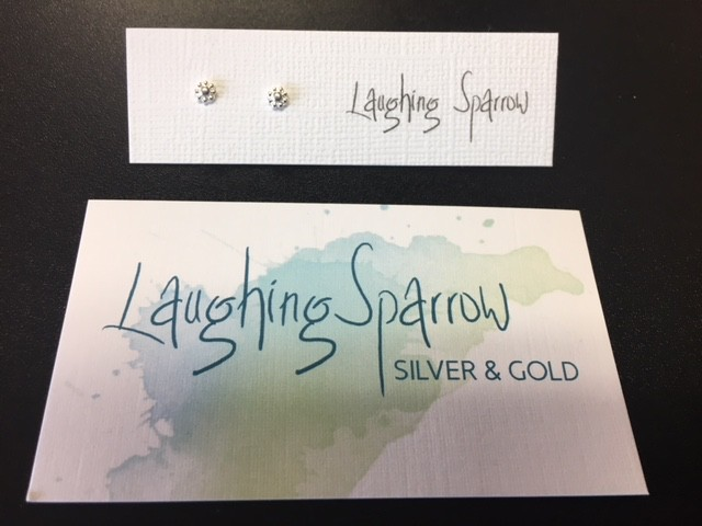 Laughing Sparrow Laughing Sparrow 170-14 Tiny Flower Studs