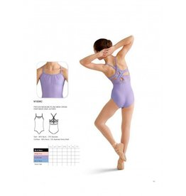 Bloch Bloch Mirella M1206C Felina  Pinktuck Front, Cross Back Leotard /Bodysuit