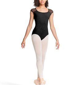 Bloch Bloch Mirella M5060TM Applique Open Back, with Mesh Leotard /Bodysuit