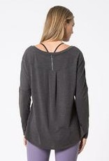 MPG MPG Chia 2.0 Warrior Knit Stink-Free Drape Top