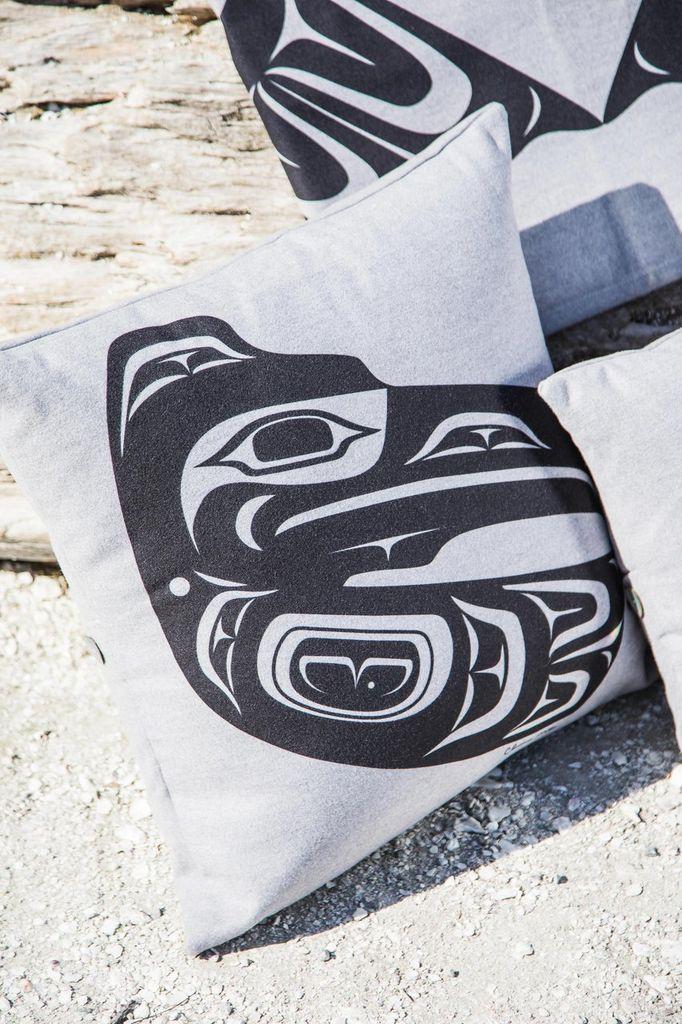 """Chloe Angus Designs Chloe Angus Royal Blue Pillow Cover MODERN PRINT 16""""x16"""""""