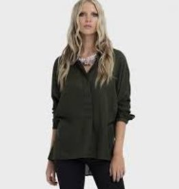 ELK ELK Loden Wide Placket Soft Shirt