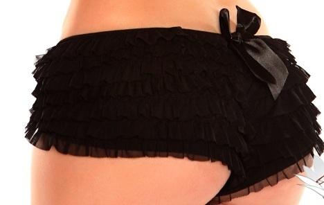 Daisy Corsets Ruffle-Panties-With-Bow