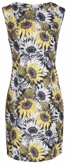 Smashed Lemon Smashed Lemon S17407 Sunflower Dress