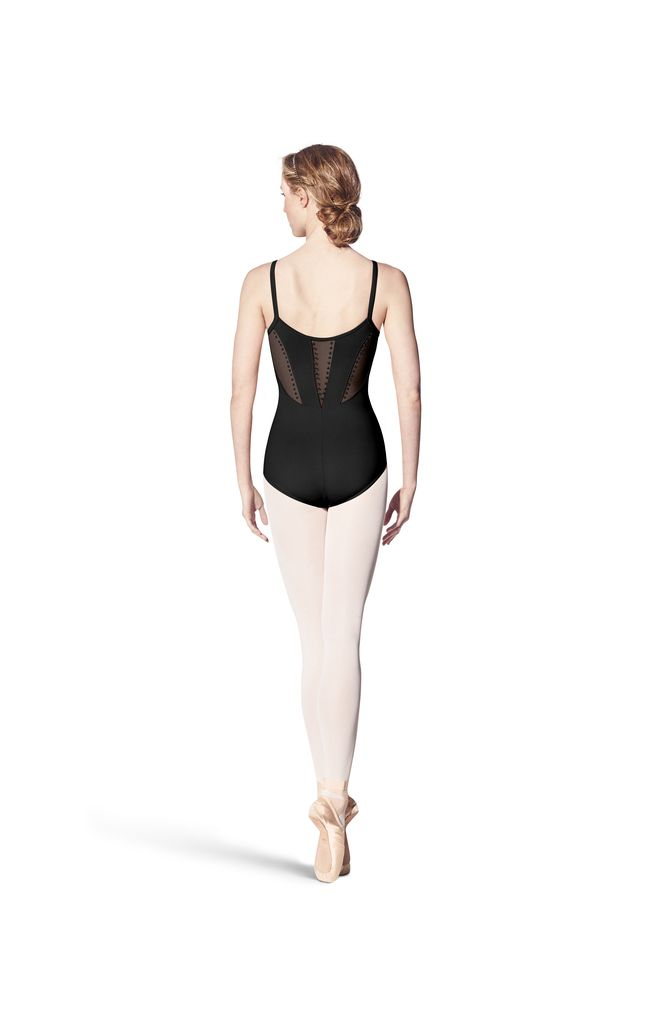 Bloch Block Studded Back Panel Cami Leotard