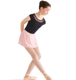 Bloch Bloch Pearl Front and Back Yoke Cap Sleeve Leotard