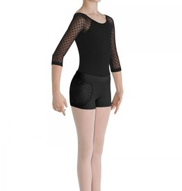 Bloch Bloch CR7914 Heart Shape Mesh Shorts - Child