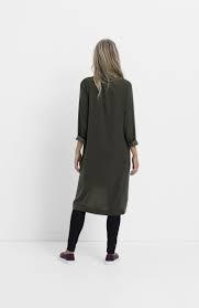 ELK Elk Loden Drapey Shirt Dress