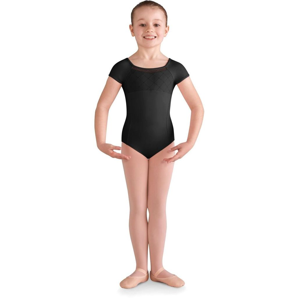 Bloch Bloch CL9932 Diamond Heart Cap Sleeve Leotard