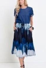 ELK Elk Water Print Skirt