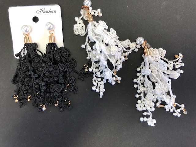 CA Lace Earrings