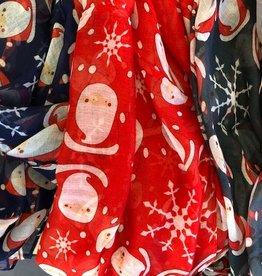 Christmas Print Infinity Scarves
