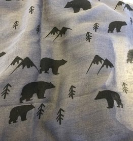 Bear Infinity Scarves