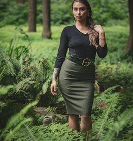 Chloe Angus Designs Chloe Angus Fleece Peg Skirt