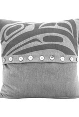 Chloe Angus Designs Chloe Angus Designs Pillow Cover, DYNAMIC RAVEN 16 x 16