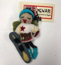 Icelandic Designs Newari Snowboarder Fairy